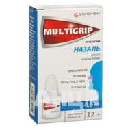 Мультигрип назаль капли назальные раствор 0,1 % флакон 10 мл