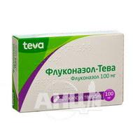 Флуконазол-Тева капсулы твердые 100 мг блистер №10