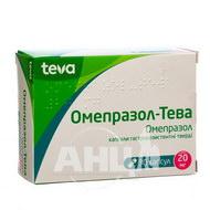 Омепразол-Тева капсули гастрорезистентні 20 мг блістер №30