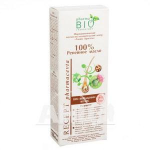 Реп'яхова олія 100% Pharma Bio Laboratory 100 мл