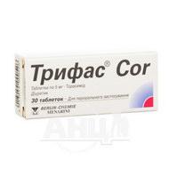 Трифас Cor таблетки 5 мг №30