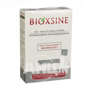 Растительный шампунь Bioxsine Femina против выпадения для жирных волос 300 мл