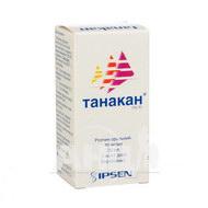 Танакан розчин оральний 40 мг/мл флакон 30 мл з дозатором