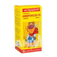Амброксол 15 сироп 15 мг/5 мл флакон полімерний 100 мл