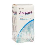 Алердез сироп 0,5 мг/мл флакон 100 мл