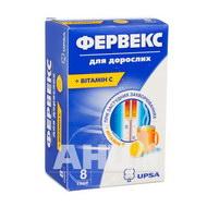 Фервекс для дорослих порошок для орального розчину саше №8