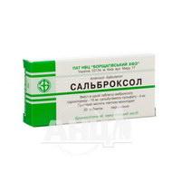 Сальброксол таблетки блистер №20