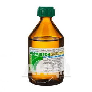 Формідрон розчин спиртовий для зовнішнього застосування флакон 100 мл