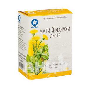 Мати-й-мачухи листя пачка з внутрішним пакетом 40 г