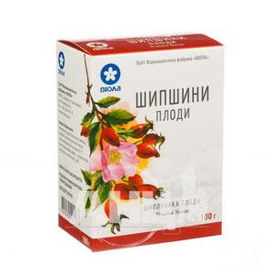 Шипшини плоди пачка з внутрішним пакетом 100 г
