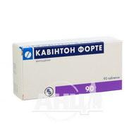 Кавінтон форте таблетки 10 мг №90