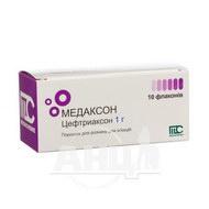 Медаксон порошок для раствора для инъекций 1 г флакон №10