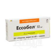 Эссобел таблетки покрытые оболочкой 10 мг №28