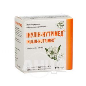 Інулін-нутрімед капсули 500 мг №60