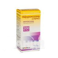 Ніфуроксазид-Сперко суспензія оральна 200 мг/5 мл контейнер 100 мл