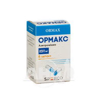 Ормакс капсули 250 мг контейнер №6