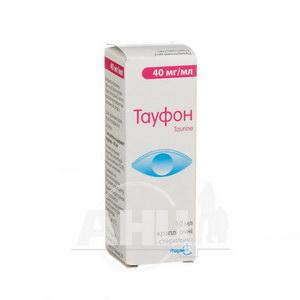 Тауфон краплі очні 4 % флакон 10 мл