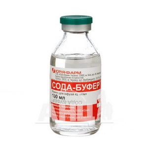 Сода-Буфер розчин для інфузій 4,2% пляшка 100 мл