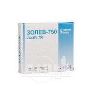 Золев-750 таблетки покрытые пленочной оболочкой 750 мг №5