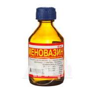 Меновазин раствор спиртовой для наружного применения флакон стеклянный 40 мл