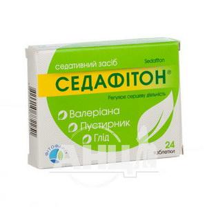 Седафитон таблетки блистер №24