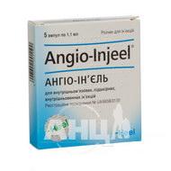 Ангіо-ін'єль розчин для ін'єкцій ампула 1,1 мл №5