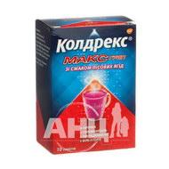 Колдрекс Макс Грип лісові ягоди порошок для орального розчину пакет №10