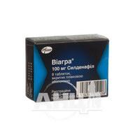 Виагра таблетки покрытые пленочной оболочкой 100 мг №8