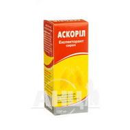 Аскоріл Експекторант сироп флакон пластиковий 100 мл