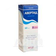 Авертид розчин для перорального застосування 8 мг/мл контейнер 60 мл