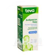 Амброксол-Тева розчин оральний 7,5 мг/мл флакон з пробкою-крапельницею 100 мл