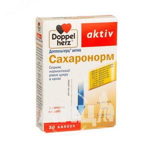 Доппельгерц Актив Сахаронорм капсулы №30