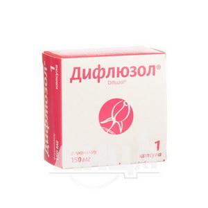 Дифлюзол капсули 150 мг блістер №1