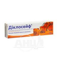 Діклосейф гель емульсія для зовнішнього застосування 1,16 % туба 30 г