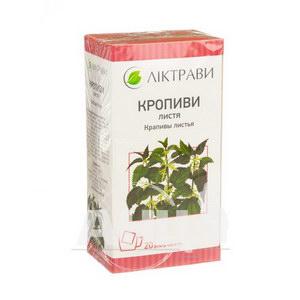 Кропиви листя 1,5 г фільтр-пакет №20