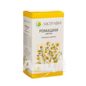 Ромашки квітки пачка з внутрішним пакетом 40 г