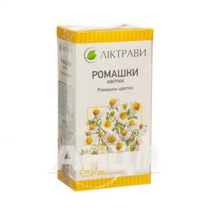 Ромашки квітки квітки 1,5 г фільтр-пакет №20