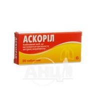Аскоріл таблетки №20