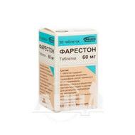 Фарестон таблетки 60 мг флакон №30