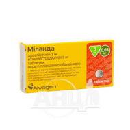 Міланда таблетки вкриті плівковою оболонкою 3 мг + 0,03 мг блістер №21