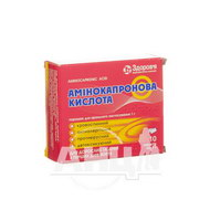 Амінокапронова кислота порошок для перорального застосування 1 г пакет №10