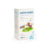 Азитро Сандоз порошок для оральної суспензії 200 мг/5 мл флакон 30 мл