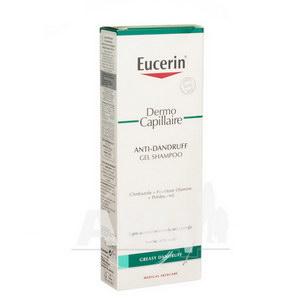 Шампунь проти лупи Eucerin для жирного типу шкіри голови 250 мл