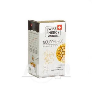 Витамины Swiss Energy Нейрофорс капсулы №30