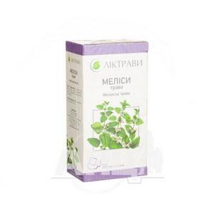 Мелиссы трава 1,5 г фильтр-пакет №20