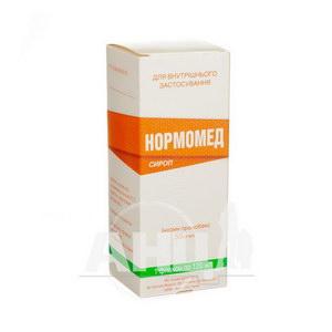 Нормомед сироп 50 мг/мл флакон 120 мл