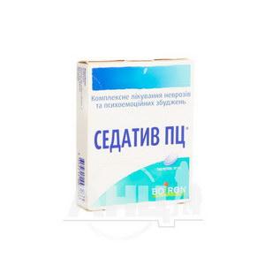 Седатив ПЦ таблетки №40