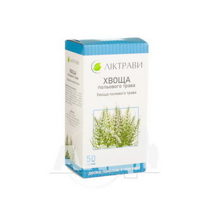 Хвоща польового трава 50 г пачка з внутрішним пакетом