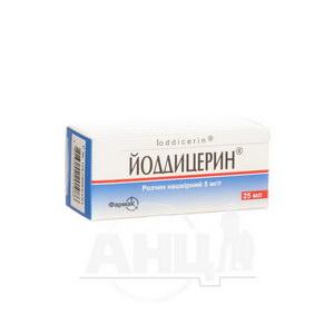Йоддицерин розчин нашкірний флакон 25 мл №1