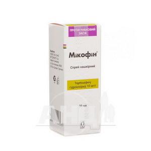 Мікофін спрей 10 мг/г флакон 30 мл з розпилювачем №1